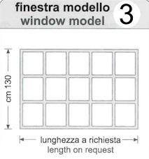 Finestra Pvc Cristal Window a nastro
