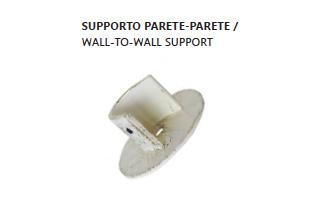 supporti/rosetta a parete