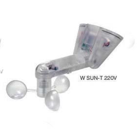 Sensore W SUN-T 220V sole + vento G8 (disattivabile radio)